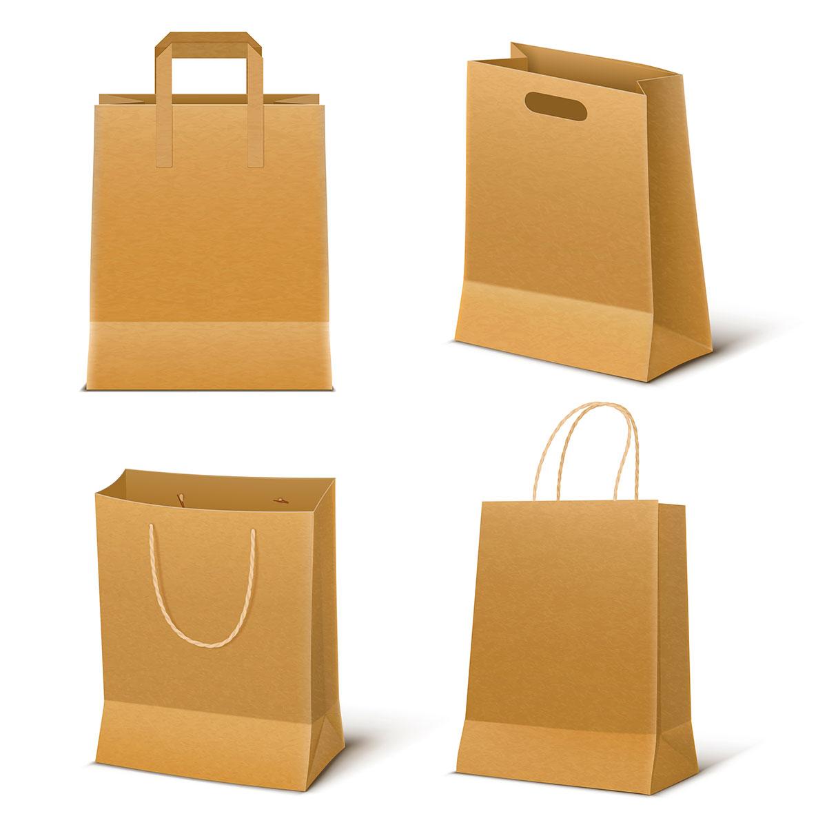 Tipos de bolsas de papel. ¿Cuál es mejor?