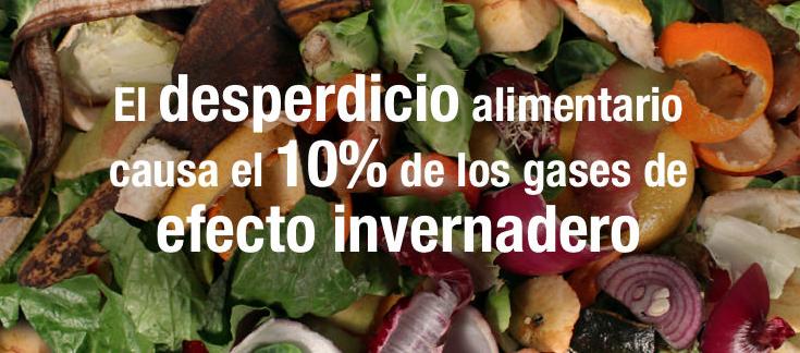 envases activos desperdicio alimentario efecto invernadero
