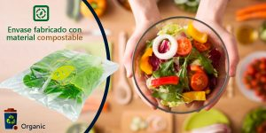 Benefits of compostable packaging for fruit and vegetables.